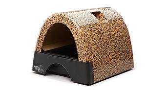Gogo Leopard Litter Box