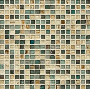 5/8x5/8 Kona Island Glass Mosaic - Tile