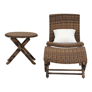 Safavieh Mendoza Lounge Chair Set, 3-Piece