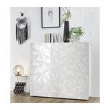 Prisma (white) 2 door cupboard