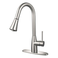 contemporary kitchen faucets | houzz