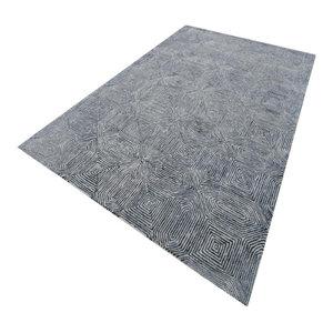 Camden Rug, Black and White, 160x230 cm