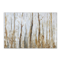 "Uttermost ""Mystic Forest"" Hand-Painted Art, 60""x40"""