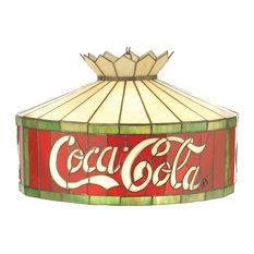 "Meyda Lighting 74082 20""W Coca-Cola Pendant"
