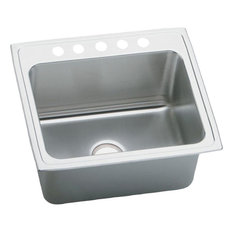 Elkay Pla2522125 Pursuit Stainless Steel Single Bowl Laundry/Utility Sink