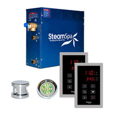 SteamSpa Saunas & Steam Units Royal 9kW Touch Pad Steam Bath Generator Package