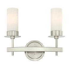 "Westinghouse 6327200 Roswell 2 Light 16-9/16"" Wide Bathroom Vanity Light"