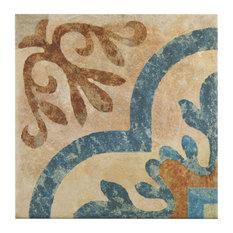 "8.75""x8.75"" Suffolk Newton Porcelain Floor and Wall Tiles, Newton"
