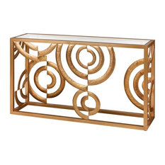 Elk Home Danny - 52-inch Console Gold Leaf Finish