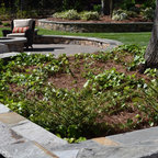 Riverside Pebble Patio Contemporary Patio Other By