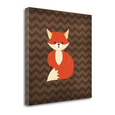 """Fox II"" By Tamara Robinson, Giclee Print on Gallery Wrap Canvas, Ready to Hang"