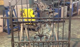 grilles et portillon fer forgé sur mesure