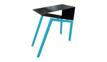 Acme Side Table, Ball Blue