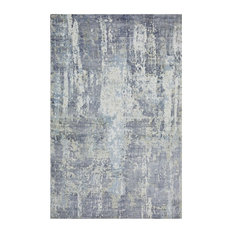 Hagues Handmade Area Rug, Dove, 8'x10'