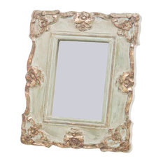 Vendome Blue and Gold Rectangle Frame