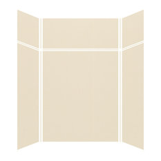 """Transolid Expressions Shower Wall Kit, Bisque, 42""""x60""""x96"""""""