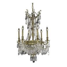 "Elegant Lighting Esperanza 22"" 9-Light Royal Crystal Chandelier"