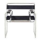 Global Furniture Strap Chair, Black
