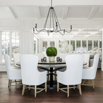 DANO'S ROUND PEDESTAL DINING TABLE