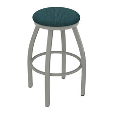 802 Misha 36-inch Swivel Extra Tall Bar Stool With Graph Tidal Seat