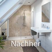 Foto von Umbau Wanne zur Dusche - Pflegekomfort Deutschland