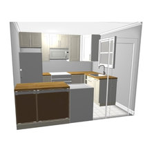 Our Kitchen: DESIGN PLAN