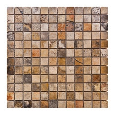 Most Popular Travertine Mosaic Tile For Houzz - 16 inch travertine tile