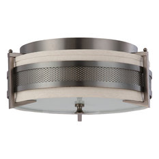 Nuvo 3-Light Diesel Collection Flush Mount Lighting Fixture