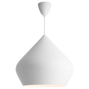 Dublin Pendant Light, Matte White, Large