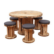 Spindle Table Set