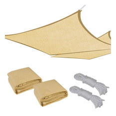 13'x10' Outdoor Rectangle Sun Sail Shade Cover, Set of 2