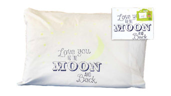 """""""Love You to the Moon and Back"""" Pillowcase"""