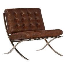 Vigan Antique Dark Brown Occasional Chair