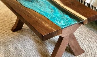 Walnut Copper River Table
