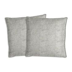 Sunbrella Frequency Ash Pillow Set