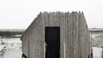 野鳥の観察小屋