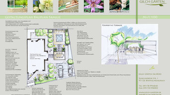 Moderner Stadtgarten