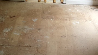 Hardwood Installations before and after