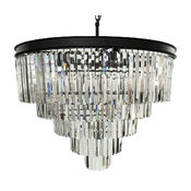 Lumos 12 Lights Luxury Modern Crystal Chandelier Pendant Ceiling Light