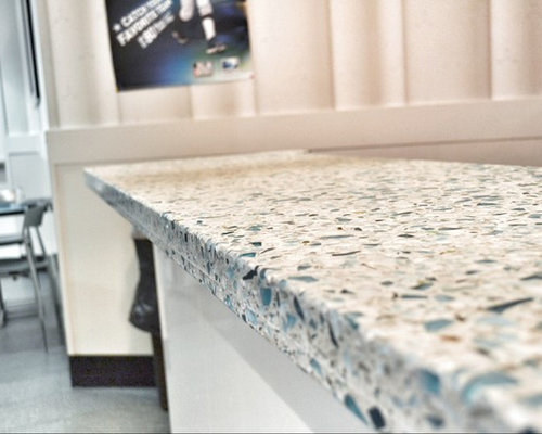 recycled glass countertops cost ideas pictures remodel and decor. Black Bedroom Furniture Sets. Home Design Ideas
