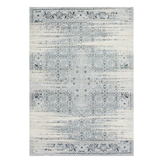 """Traditional Vintage Abstract Rug, 6'7""""x9'"""
