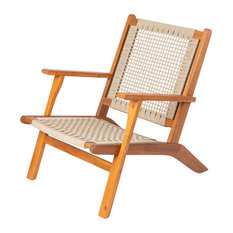 Patio Sense - Vega Natural Stain Outdoor Chair - Outdoor Lounge Chairs