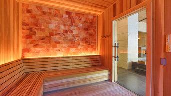Himalayan Salt Wall Sauna - Loma de Vida Spa & Wellness