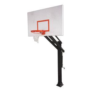 Titan In Ground Adjustable Basketball Goal, Titan Excel