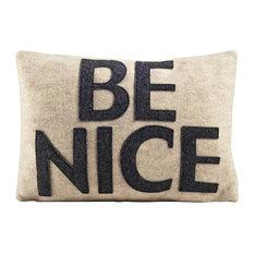 Be Nice, Oatmeal/Charcoal