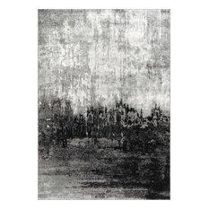 Abstract Rainfall, Black, 8'x10'