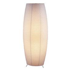 Adesso 6135-02 Suki Floor Lantern-White