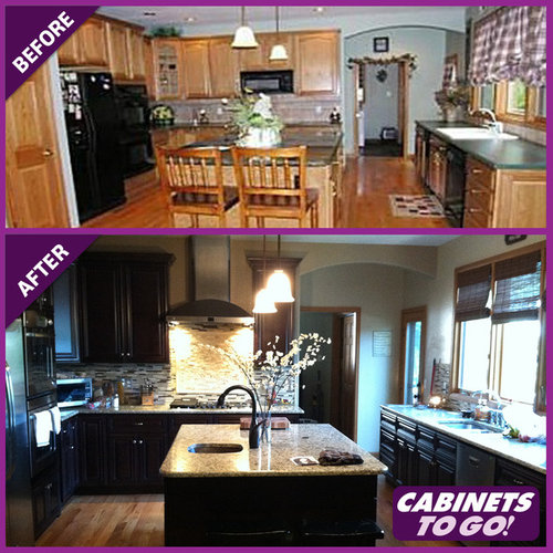 Kitchen Design Before And After Photo: Kitchen Before And Afters