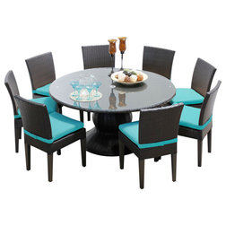 Tropical Outdoor Dining Sets by Design Furnishings