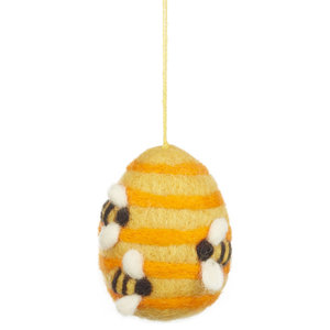 Felt So Good Busy Beehive Christmas Decoration